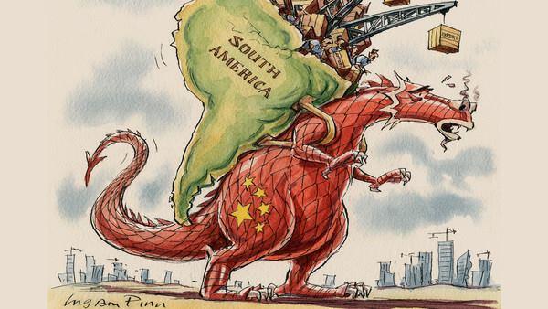Os empréstimos da China à América Latina crescem 22 bilhões de dólares