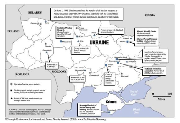 Carte Ukraine et cie